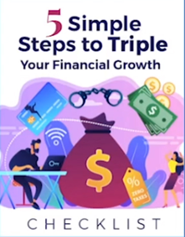 5 simple steps to triple your financial growth